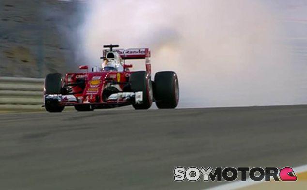 Vettel rompe su Ferrari antes de empezar - LaF1
