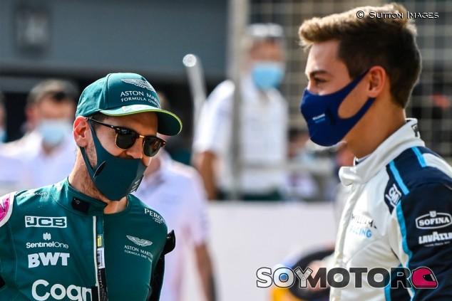 """Vettel defiende a Russell: """"No puedes complacer a todo el mundo"""" - SoyMotor.com"""