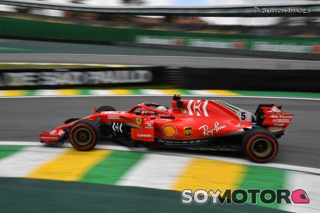 Sebastian Vettel en Interlagos - SoyMotor.com