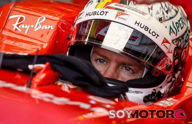 """A Vettel el 3º le sabe a poco: """"Es una verdadera mierda de posición"""" - SoyMotor.com"""