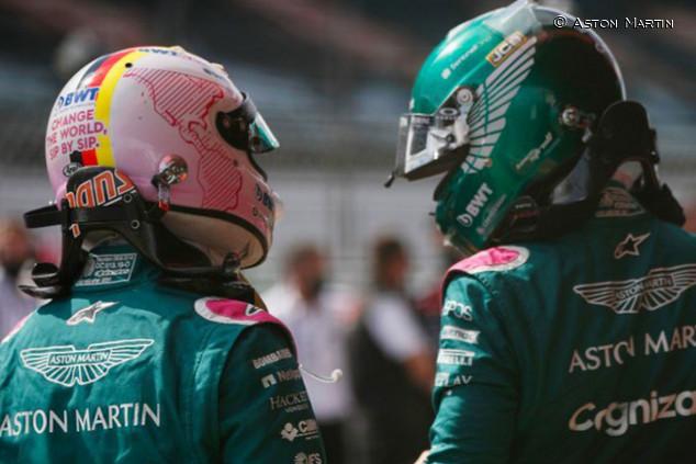 OFICIAL: Stroll y Vettel renuevan con Aston Martin para 2022 - SoyMotor.com