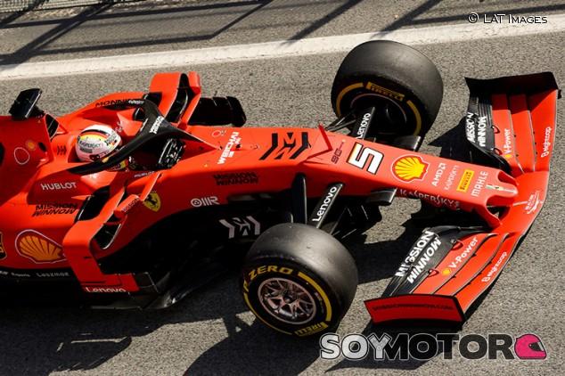 """Vettel: """"Los alerones delanteros nuevos son realmente feos"""" - SoyMotor.com"""