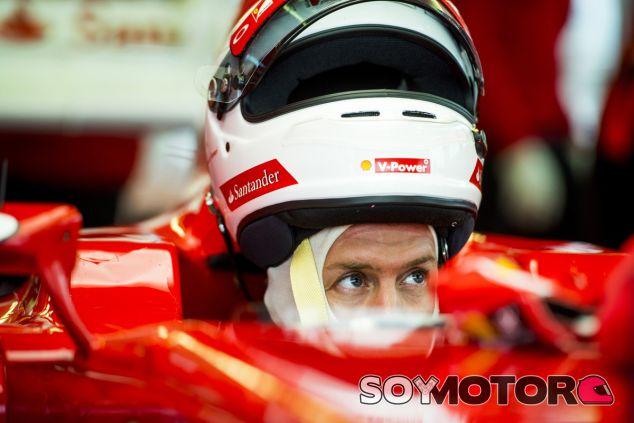 Sebastian Vettel en una imagen de archivo de su primer test con Ferrari en Fiorano - LaF1