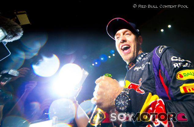 Sebastian Vettel celebra su tetracampeonato en la India - LaF1