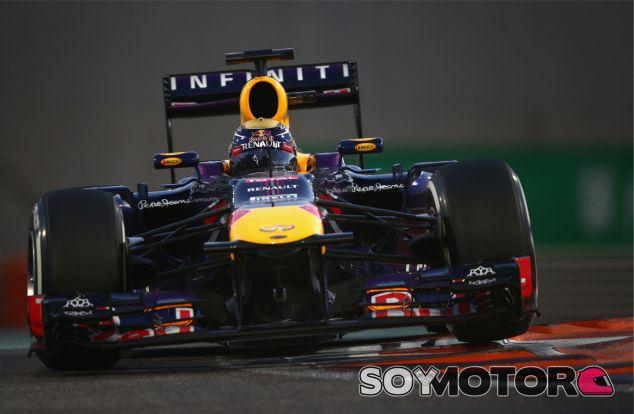 Sebastian Vettel en el Yas Marina de Abu Dabi - LaF1