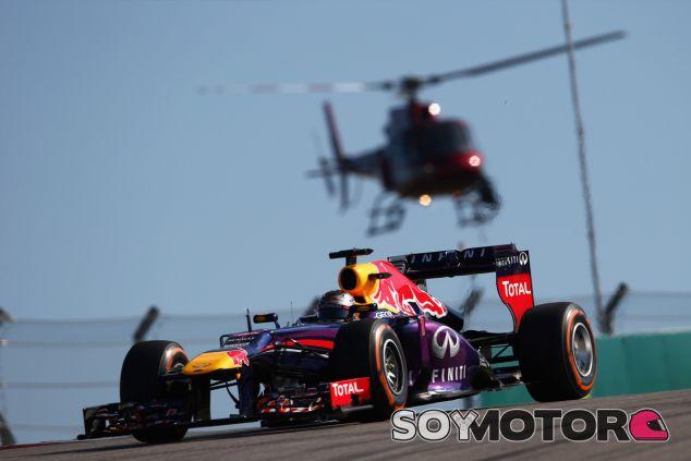 Sebastian Vettel durante el Gran Premio de Estados Unidos - LaF1