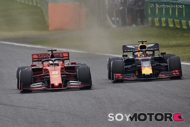 """Vettel no es un piloto """"mágico"""", según Verstappen - SoyMotor.com"""