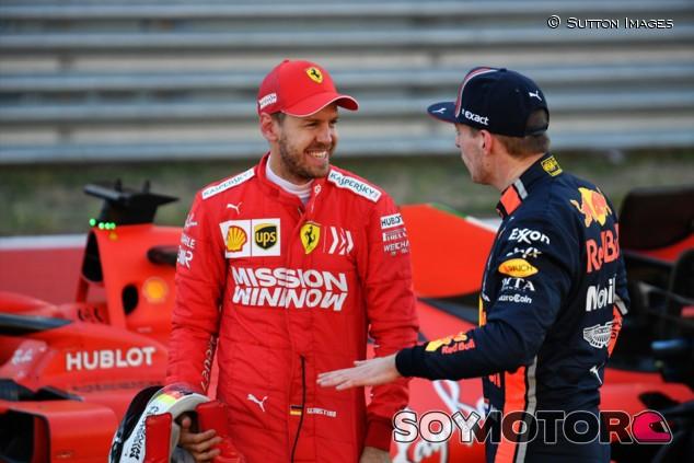 """Vettel: """"Que Verstappen nos llame tramposos no es profesional ni maduro"""" - SoyMotor.com"""