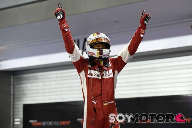 Vettel ha recuperado la sonrisa en Ferrari - LaF1