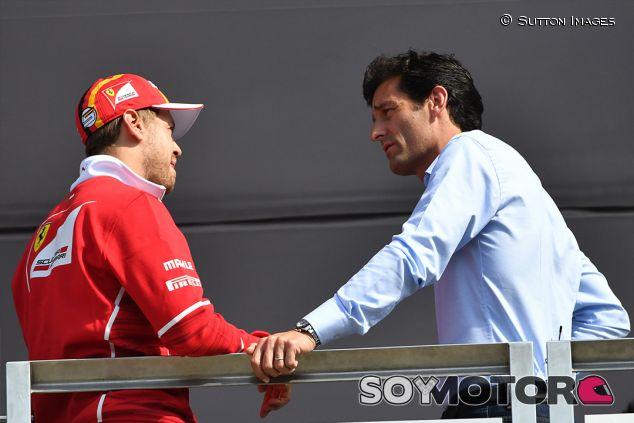 Sebastian Vettel y Marko Webber en Silverstone - SoyMotor.com