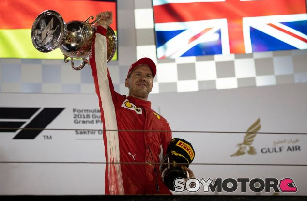 Sebastian Vettel después del GP de Baréin – SoyMotor.com