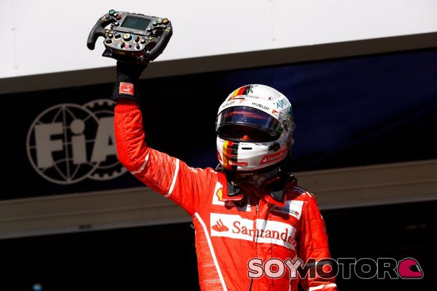 Sebastian Vettel celebra en Interlagos – SoyMotor.com