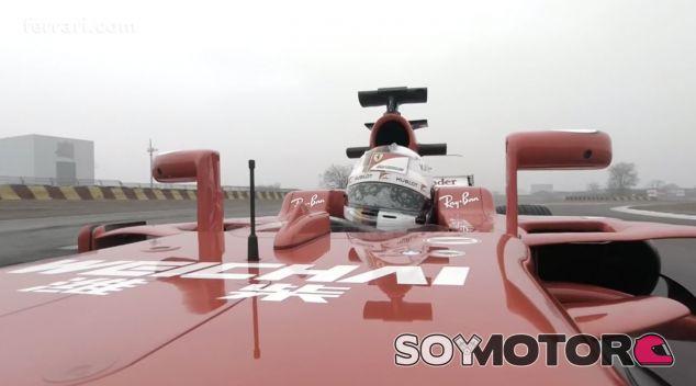 Captura del vídeo onboard de Sebastian Vettel - SoyMotor.com