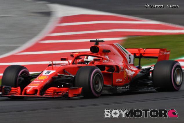 Sebastian Vettel con los neumáticos hiperblandos – SoyMotor.com