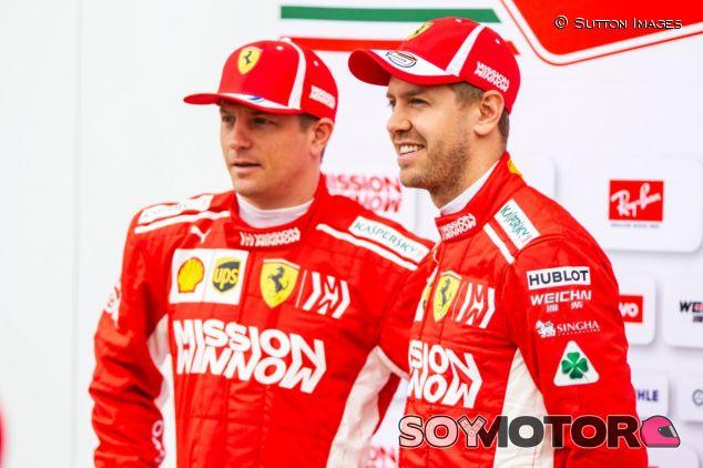 Sebastian Vettel y Kimi Räikkönen – SoyMotor.com