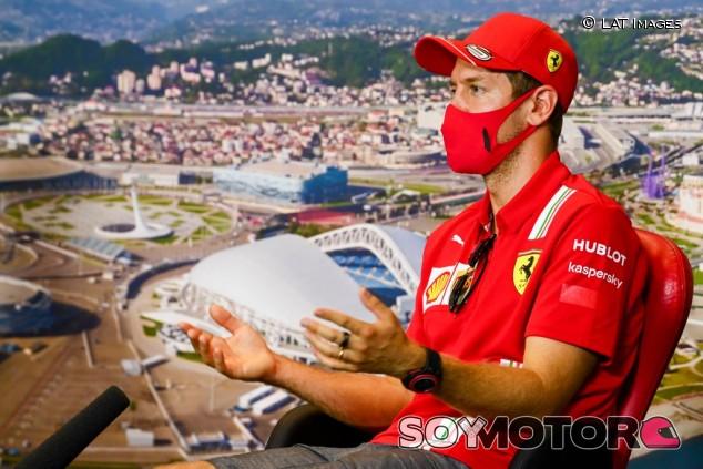 "Vettel, sobre Hamilton: ""Feliz por él, pero triste porque Michael es mi ídolo"" - SoyMotor.com"