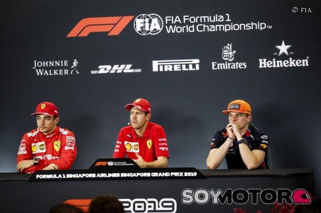 GP de Singapur F1 2019: Rueda de prensa del domingo – SoyMotor.com