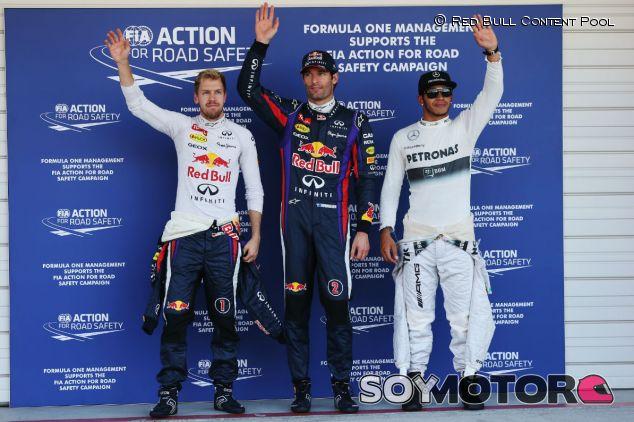 Sebastian Vettel, Mark Webber y Lewis Hamilton en Suzuka - LaF1
