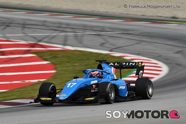Victor Martins cierra los test de Barcelona en lo más alto - SoyMotor.com