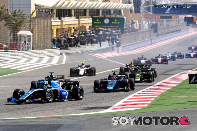 Victoria de Zhou en la carrera larga de Fórmula 2 en Baréin - SoyMotor.com