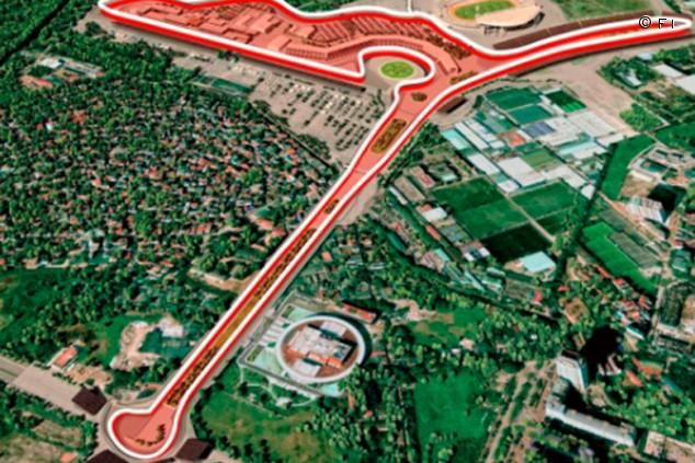 Vietnam comienza la construcción del circuito para su primer GP de F1