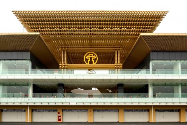 El circuito de Hanói toma forma: listo su ambicioso edificio de boxes - SoyMotor.com