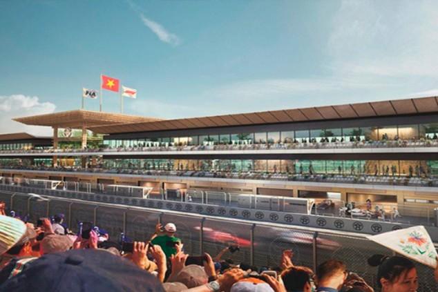 Primeras imágenes: así será el GP de Vietnam en el circuito de Hanói - SoyMotor.com