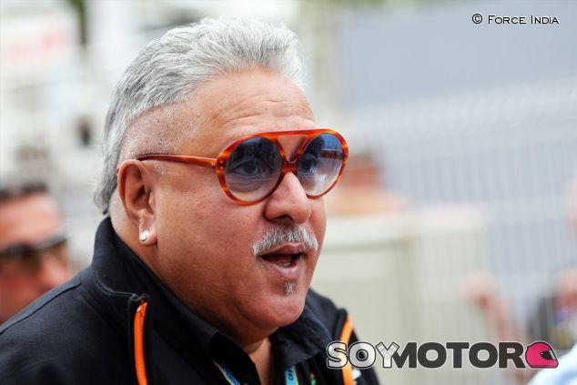 Vijay Mallya, visto en el paddock de Mónaco - LaF1