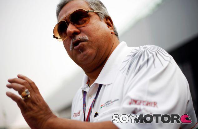 Vijay Mallya, propietario de Force India