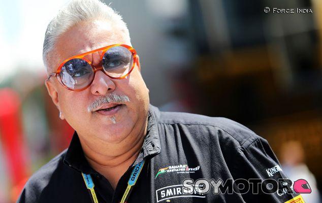 """Vijay Mallya emprenderá acciones legales para desestimar la acusación de """"moroso"""" - LaF1.es"""