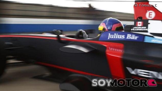 Villeneuve corrió con el equipo Venturi - LaF1