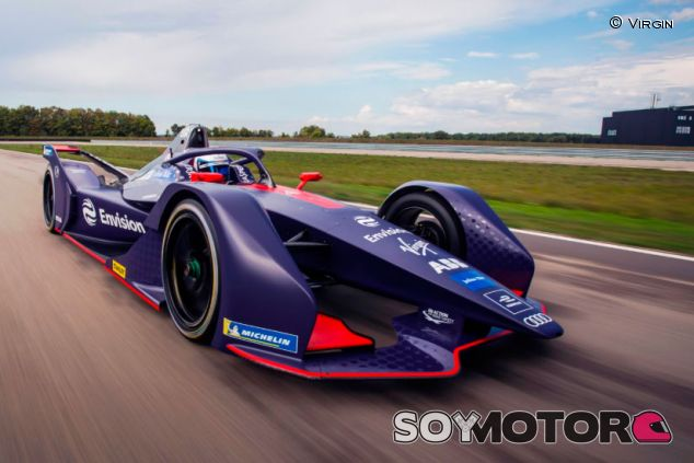 Coche de Virgin para la temporada 2018-2019 de Fórmula E - SoyMotor.com