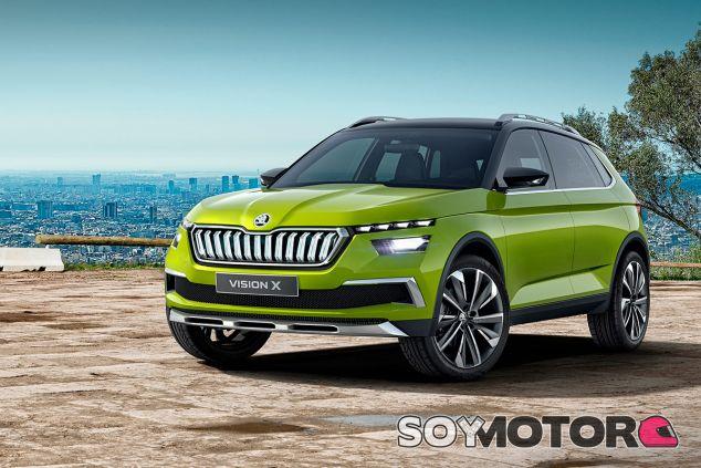 Skoda Vision X 2018 - SoyMotor