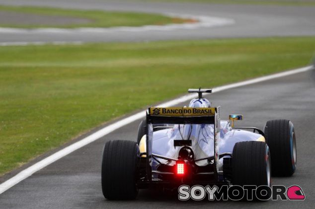 Vista trasera del C35 de Marcus Ericsson - LaF1