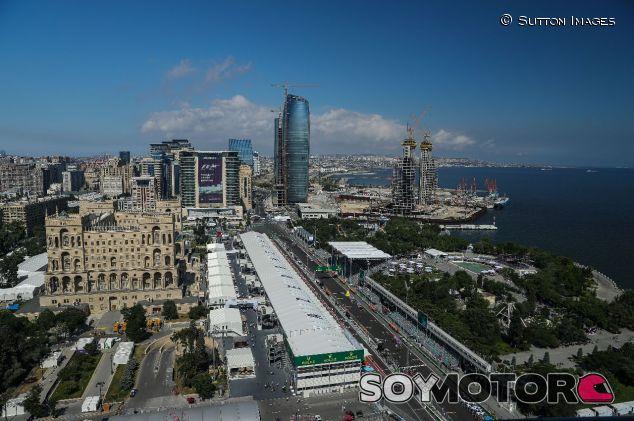 Vista aérea del trazado de Bakú – SoyMotor.com