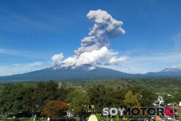 Volcán Popocatépetl, en erupción - LaF1