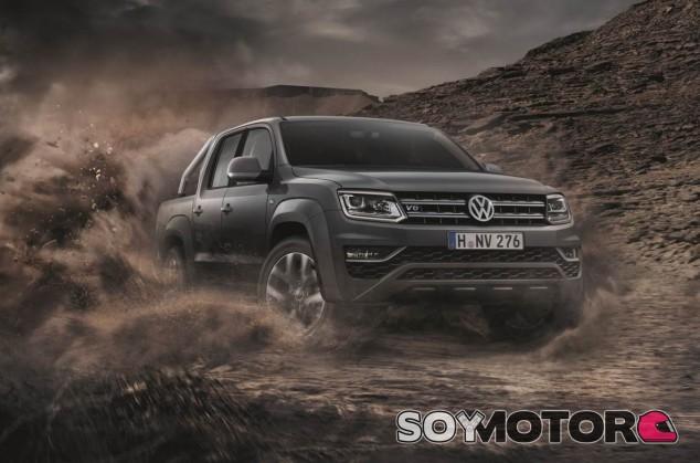 Volkswagen Amarok 2018: nuevo motor y más equipamiento - SoyMotor.com