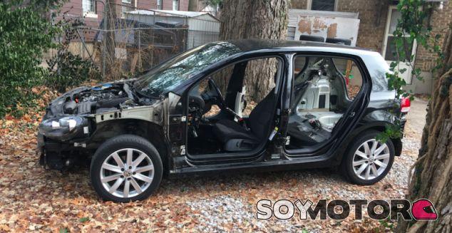 Volkswagen Golf 2.0 TDI desguazado - SoyMotor.com
