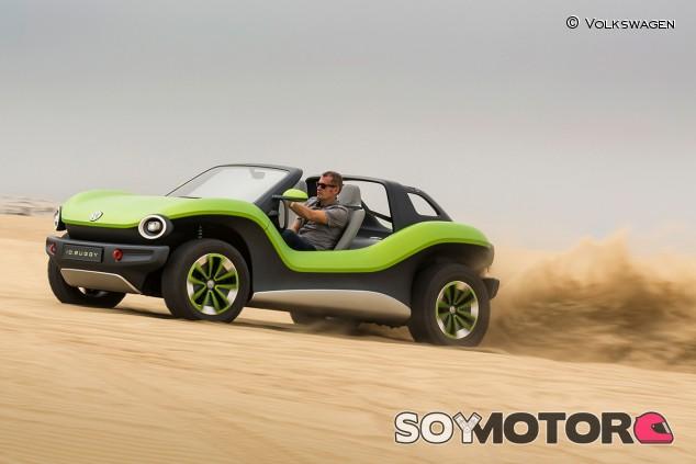 Volkswagen ID. Buggy: debut sobre arena