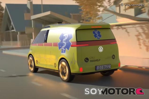 Volkswagen ID. Buzz: también puede ser una ambulancia autónoma - SoyMotor.com