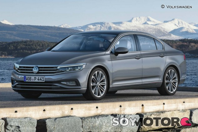 Nuevo Volkswagen Passat 2020: tecnología y conectividad - SoyMotor.com
