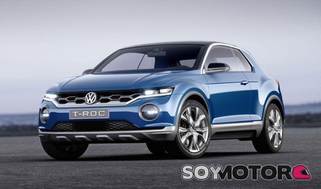 Este SUV ocupará el mismo segmento que el Volkswagen T-Roc en Europa - SoyMotor