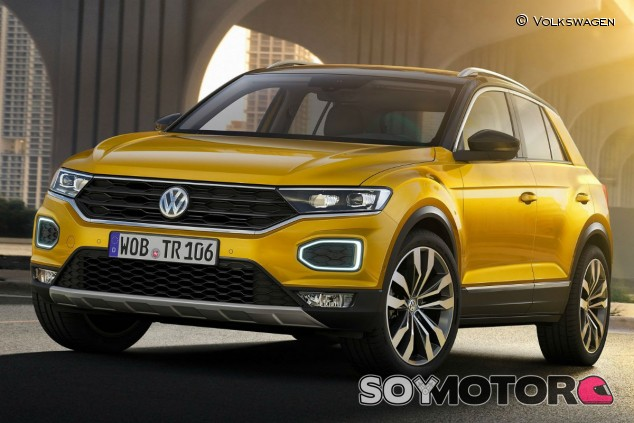 El Volkswagen T-Roc GTE es una posibilidad real - SoyMotor.com