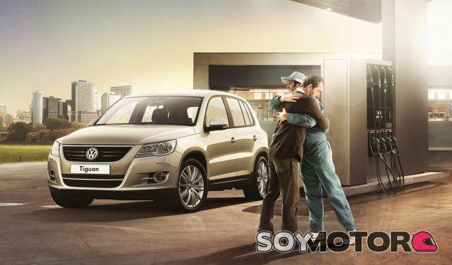 Este abrazo 'Volkswagen' debe ser lejos de Europa, visto lo visto - SoyMotor
