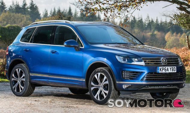 El Volkswagen Touareg sería uno de los vehículos afectados - SoyMotor