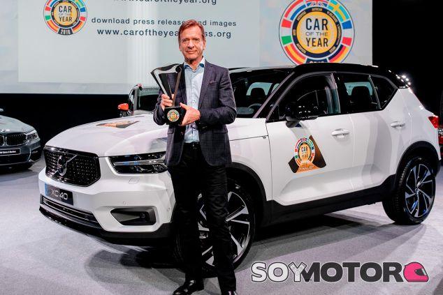 Volvo XC40: Coche del Año en Europa 2018 - SoyMotor.com