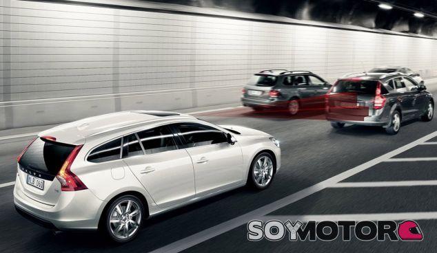 Sistema de frenado de emergencia de Volvo - SoyMotor