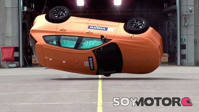 Crash test del Volvo XC60 - SoyMotor.com