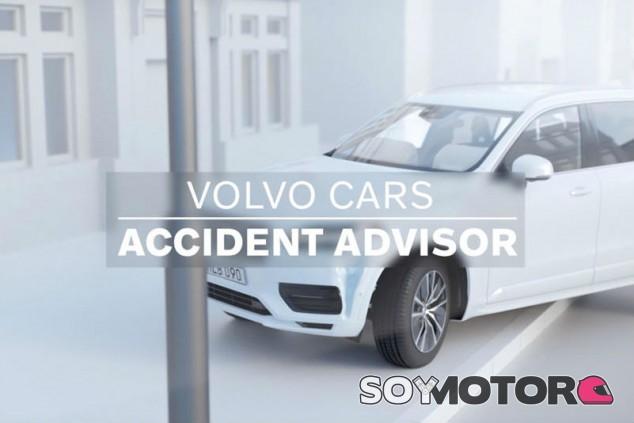 Volvo: así ayudarán al conductor tras sufrir un accidente - SoyMotor.com