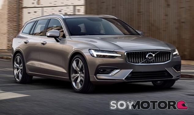 Volvo V60 2018 - SoyMotor.com